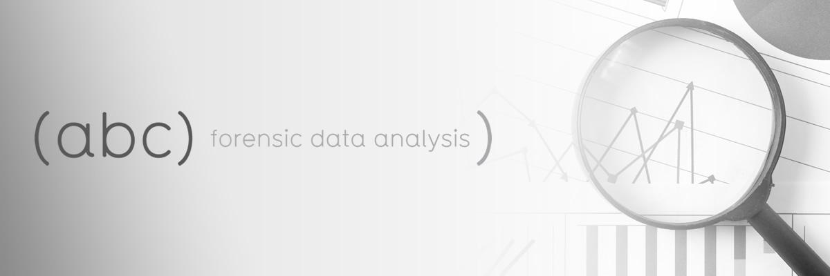 Forensic Data Analysis